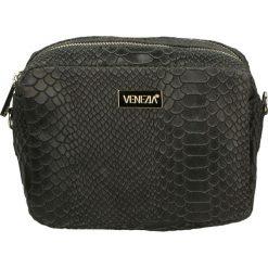 Torebka - 171-002-O GRI. Żółte torebki klasyczne damskie marki Venezia, ze skóry. Za 139,00 zł.