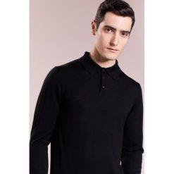 Armani Collezioni Sweter schwarz. Czarne swetry klasyczne męskie marki Armani Collezioni, m, z materiału. W wyprzedaży za 573,30 zł.