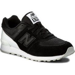Trampki chłopięce: Sneakersy NEW BALANCE – KL574C8G Czarny