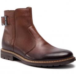 Kozaki SERGIO BARDI - Gleris FW127374018GR 104. Brązowe buty zimowe męskie Sergio Bardi, z materiału. W wyprzedaży za 229,00 zł.
