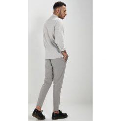 Spodnie męskie: Only & Sons ONSMATHIAS PANT CROPPED Chinosy grey pinstripe