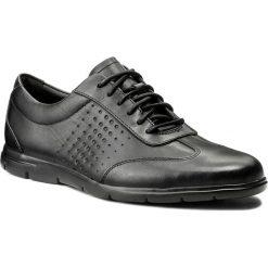 Półbuty CLARKS - Vennor Vibe 261317427 Black Leather. Czarne półbuty skórzane męskie marki Clarks. W wyprzedaży za 279,00 zł.