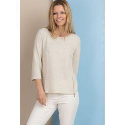 Bluzy rozpinane damskie: Bluza z żakardowym wzorem