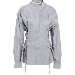 McQ Alexander McQueen Bluzka blue. Niebieskie bralety McQ Alexander McQueen, z bawełny. W wyprzedaży za 587,60 zł.