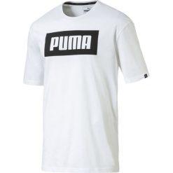 Rebel Basic T-SHIRT WHITE 850554 02. Białe t-shirty męskie Puma. Za 74,99 zł.