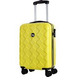 Walizki: Walizka w kolorze żółtym – 34 l