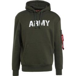 Bejsbolówki męskie: Alpha Industries ARMY NAVY  Bluza z kapturem dark green
