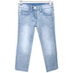 Primigi Jeansy Dziewczęce 104 Niebieski. Niebieskie jeansy dziewczęce Primigi, z jeansu. W wyprzedaży za 105,00 zł.