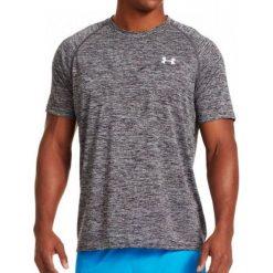 Under Armour Koszulka męska Tech Short Sleeve T-Shirt Black/White r. XXL (1228539009). Szare koszulki sportowe męskie marki Under Armour, z elastanu, sportowe. Za 62,22 zł.