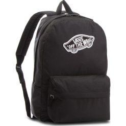 Plecak VANS - Realm Backpack VN0A3UI6BLK Black. Czarne plecaki męskie marki Vans, z materiału, sportowe. W wyprzedaży za 129,00 zł.