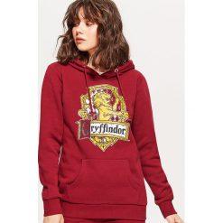 Bluza HARRY POTTER - Bordowy. Czerwone bluzy damskie marki Cropp, l. Za 99,99 zł.