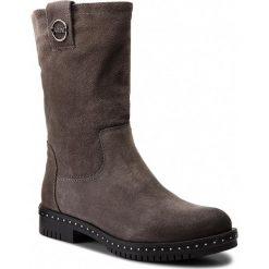 Botki CARINII - B4210 K94-000-FBR-C50. Szare buty zimowe damskie Carinii, z polaru. W wyprzedaży za 239,00 zł.