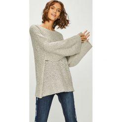 Answear - Sweter. Szare swetry oversize damskie ANSWEAR, l, z dzianiny. W wyprzedaży za 69,90 zł.