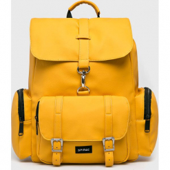 Spiral - Plecak. Pomarańczowe plecaki damskie Spiral, z poliesteru. Za 169,90 zł.