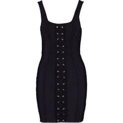 Sukienki hiszpanki: Missguided Sukienka koktajlowa black