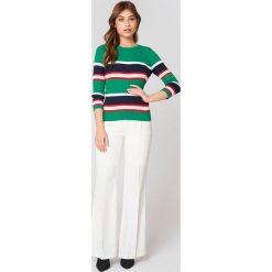 Swetry damskie: Trendyol Sweter w paski - Green,Multicolor