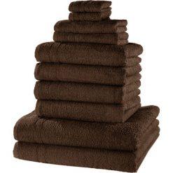 """Bielizna męska: Komplet ręczników """"New Uni""""(10 części) bonprix brązowy"""