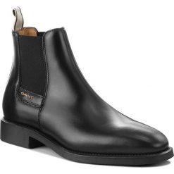 Sztyblety GANT - James 17651960  Black G00. Czarne sztyblety męskie marki GANT, z materiału. Za 699,90 zł.