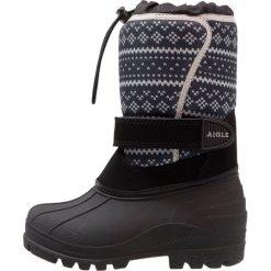 Aigle TALSI  Śniegowce evenes. Żółte buty zimowe damskie marki Aigle. W wyprzedaży za 175,45 zł.
