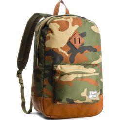 Plecak HERSCHEL - Heritage 10007-00032  Woodland Camo/Tan. Zielone plecaki męskie Herschel, z materiału. W wyprzedaży za 199,00 zł.