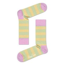 Skarpety Happy Socks Stripe (STR01-7002). Czarne skarpetki męskie marki Stance. Za 20,99 zł.