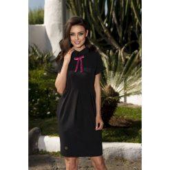 Sukienki balowe: Modna elegancka sukienka czarna