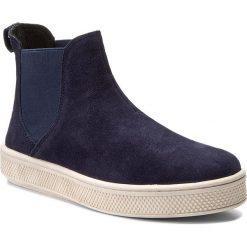 Sztyblety BIG STAR - Y273034 Navy. Szare buty zimowe damskie marki BIG STAR, z materiału. W wyprzedaży za 169,00 zł.