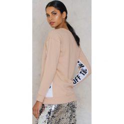 Bluzy rozpinane damskie: VANS Bluza Station Crew - Pink