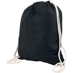 Torebki i plecaki damskie: Chestnut Drawstring Backpack Torba treningowa czarny