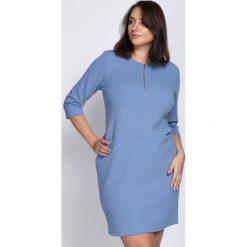 Niebieska Sukienka Got Spirit. Niebieskie sukienki hiszpanki Born2be, xl, midi, oversize. Za 69,99 zł.