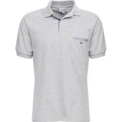 Lacoste Koszulka polo argent chine. Szare koszulki polo marki Lacoste, z bawełny. Za 419,00 zł.