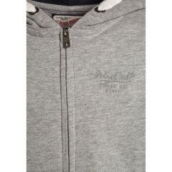 Petrol Industries HOODED Bluza rozpinana light grey melee. Białe bluzy chłopięce rozpinane marki Petrol Industries, z bawełny. W wyprzedaży za 152,10 zł.
