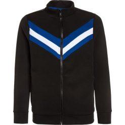 Outfit Kids PANEL ZIP  Kurtka sportowa black. Niebieskie kurtki chłopięce sportowe marki bonprix, z kapturem. Za 129,00 zł.