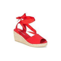 Sandały Vero Moda  SALLY WEDGE SANDAL. Czerwone rzymianki damskie Vero Moda. Za 125,30 zł.