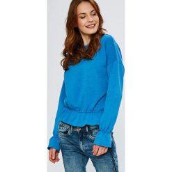 Noisy May - Bluza Emma. Szare bluzy damskie marki Noisy May, l, z bawełny, bez kaptura. Za 119,90 zł.