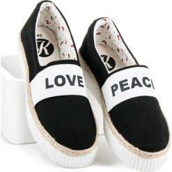 Tomsy damskie: Espadryle love & peace BRANWEN