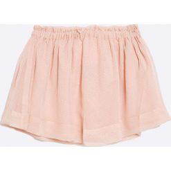Zippy - Spódnica dziecięca 103-110 cm. Szare minispódniczki marki zippy, z bawełny, rozkloszowane. W wyprzedaży za 29,90 zł.
