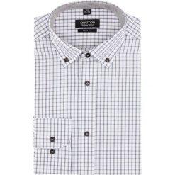 Koszula bexley 2030 długi rękaw slim fit beż. Szare koszule męskie non-iron marki Recman, m, z długim rękawem. Za 149,00 zł.