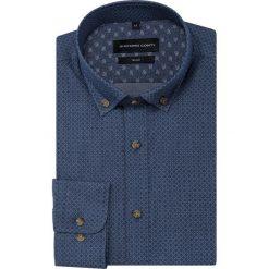 Koszula SIMONE slim KDGS000454. Czarne koszule męskie na spinki marki TOM TAILOR DENIM, l, z bawełny, button down, z długim rękawem. Za 169,00 zł.