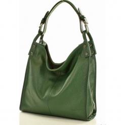 Torebka skórzana vera pelle MAZZINI - Silvia zielona. Zielone torebki klasyczne damskie marki MAZZINI, ze skóry, małe. Za 299,00 zł.