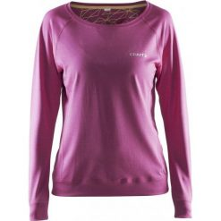 Bluzy damskie: Craft Bluza damska Pure Light Sweatshirt fioletowa r. M (1903321-2403)