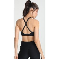 Biustonosze sportowe: Nike Performance CLASSIC STRAPPY BRA Biustonosz sportowy black/white/white