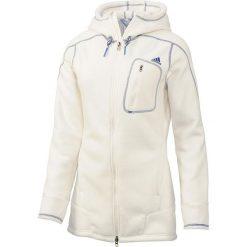 Adidas Bluza damska sportowa Teddy biała r. 38 (G91607). Czarne bluzy sportowe damskie marki DOMYOS, z elastanu. Za 200,25 zł.