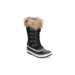 Śniegowce Sorel  JOAN OF ARCTIC. Czarne buty zimowe damskie Sorel. Za 799,99 zł.