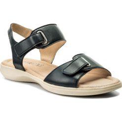 Rzymianki damskie: Sandały CAPRICE – 9-28600-20 Ocean Nappa 855