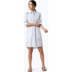 Drykorn - Sukienka damska – Camissa, niebieski. Niebieskie sukienki hiszpanki DRYKORN, w paski, koszulowe. Za 659,95 zł.