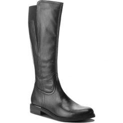 Oficerki LASOCKI - SORENA-02 Black. Czarne buty zimowe damskie Lasocki, ze skóry, na obcasie. Za 299,99 zł.