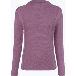 Marie Lund - Sweter damski, lila. Fioletowe swetry klasyczne damskie Marie Lund, m, z bawełny, ze stójką. Za 229,95 zł.