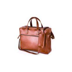 Skórzana Torba Na Laptopa Solier SL05 Newbridge Vintage Brąz. Brązowe torby na laptopa marki Solier, ze skóry, matowe. Za 579,00 zł.