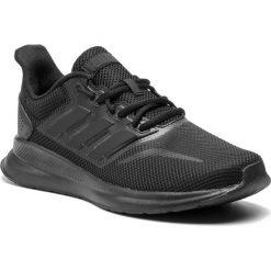 Buty adidas - Runfalcon G28970 Cblack/Cblack/Cblack. Czarne buty do biegania męskie Adidas, z materiału. Za 199,00 zł.